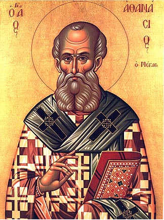 Hellige Athanasios den Store, ærkebiskop af Alexandria
