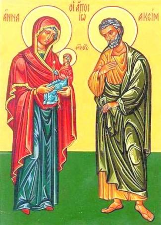Hellige Joakim og Anna