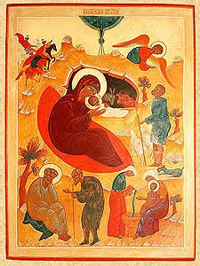 Ikon af Kristi Fødsel