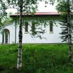 Den hellige Trifon Skita har eksistert i 25 år, men nå inkluderer den også et nytt kirkebygg. Skitaen er et lite kloster som befinner seg på Skabland øverst i Hurdal.
