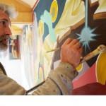 Hver freskemaler har sin egen stil. Når Blagoje Ninković går inn i en kirke kan han som oftest gjenkjenne maleren. Selv er han spesielt flink til å male øyne.