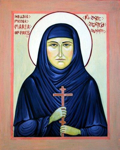Ikon af hellige moder Maria Skobtsova