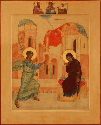 Ikon af Maria Bebudelse