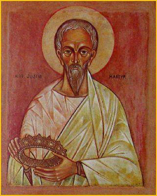 Hellige martyr Justinus filosoffen