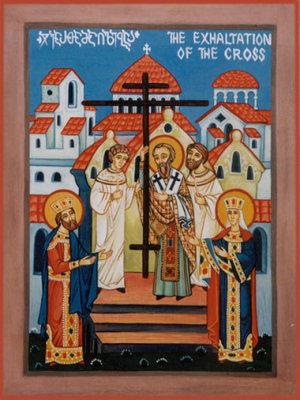 Ikon af Det Dyrebare og Livgivende Kors' Ophøjelse