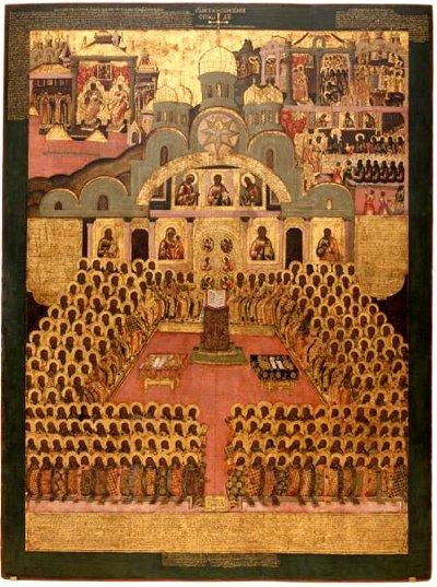 Ikon af det syvende økumeniske koncil