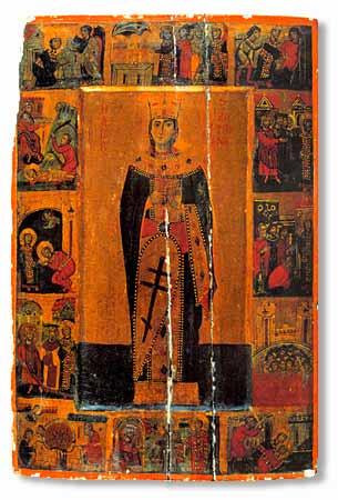 Ikon af hellige Katarina fra Alexandria