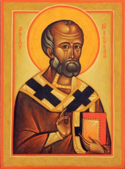 Ikon af hellige Nikolaos Undergøreren