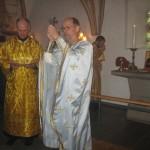 Slutvelsignelse efter liturgien