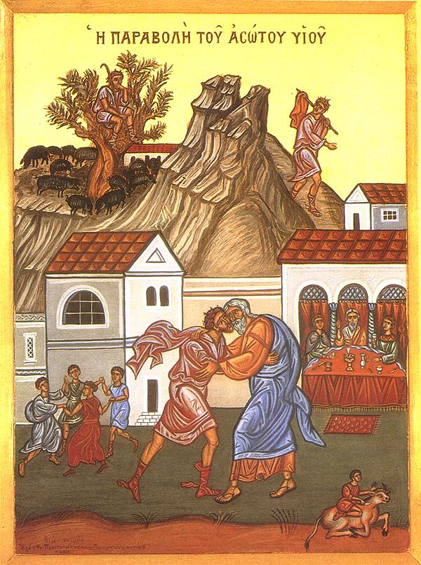 Ikon af Den Fortabte Søns Søndag