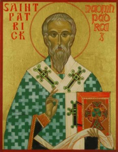 17. marts: Hellige Patrick, biskop og Irlands apostel (461)