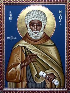Hellige Moses Etioperen