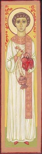 Ikon af hellige førstemartyr og ærkediakon Stefan