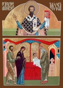 Ikon af Vor Herre Gud og Frelser Jesu Kristi omskærelse