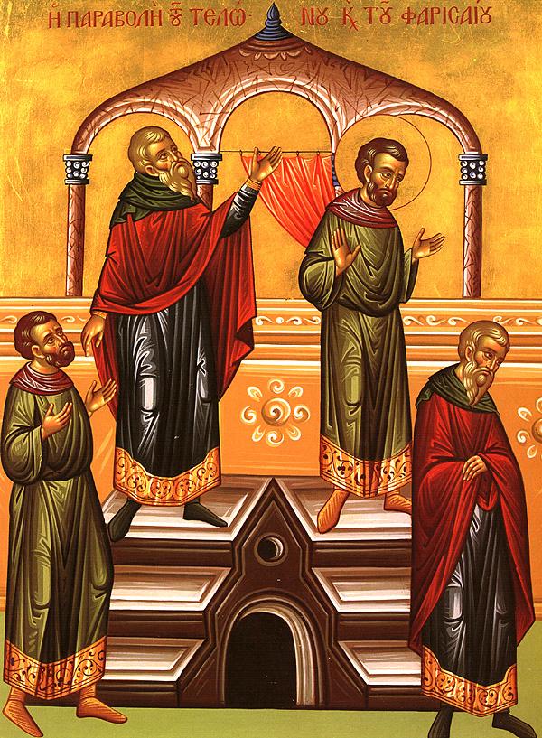 Ikon af Tolderen og Farisæeren