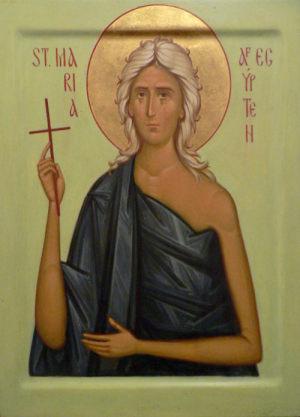 Ikon af hellige Maria af Ægypten