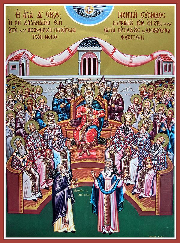 De hellige Fædre fra de seks første økumeniske konciler