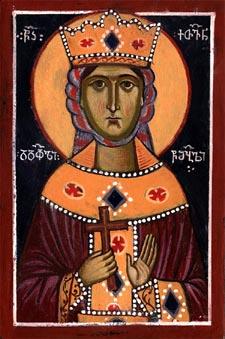 Hellige martyr Kethevan, dronning af Georgien