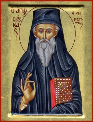 Hellige Sávvas den nye, af Kalymnos