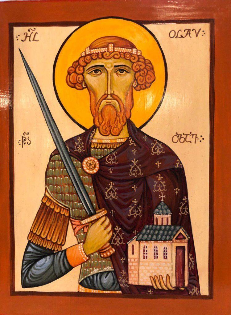 Ikon af hellige Olav, Norges Evige Konge