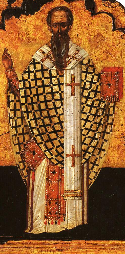 Ikon af Hellige Dionysios Areopagitten