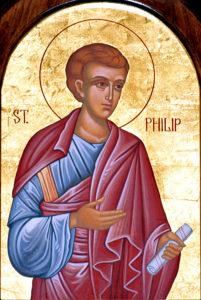 Ikon af hellige apostel Filip